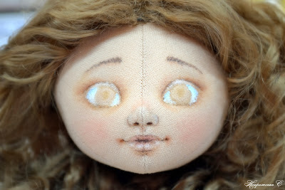 Ох, уж эти глазки! или Как я расписываю личики куклам.
