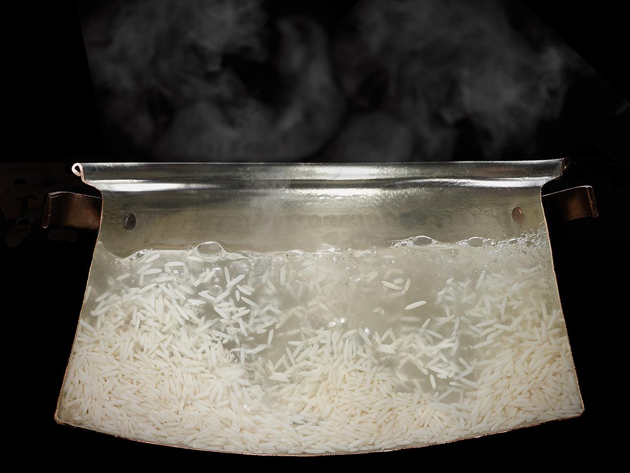 Идеальный способ приготовления риса для плова