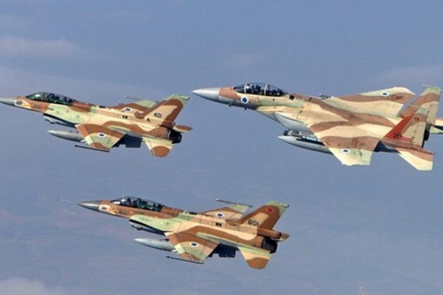 Израильские истребители сбеж…