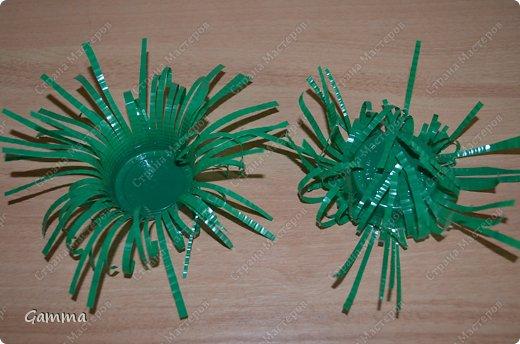 Мастер-класс: Астры из стаканчиков Стаканы. Фото 10