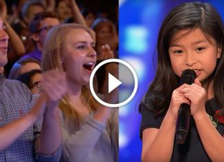 Фантастический голос 9-летней девочки покорил Сеть