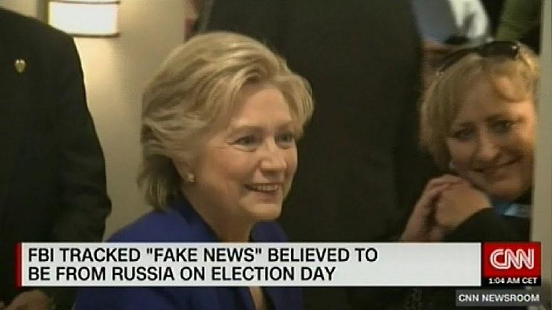 CNN: ФБР в день выборов заметило в соцсетях фейковые новости о Клинтон