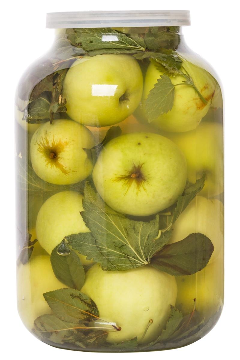 в чём приготовить моченые яблоки