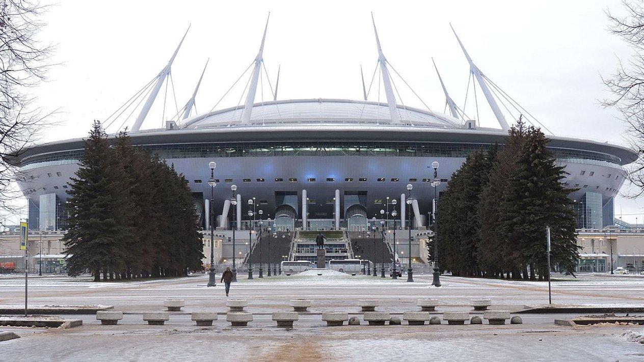 «Газпром Арену» посетил миллионный зритель