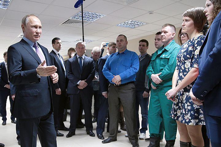 Владимир Путин: Отказ Украины от сотрудничества подарил нам новую отрасль