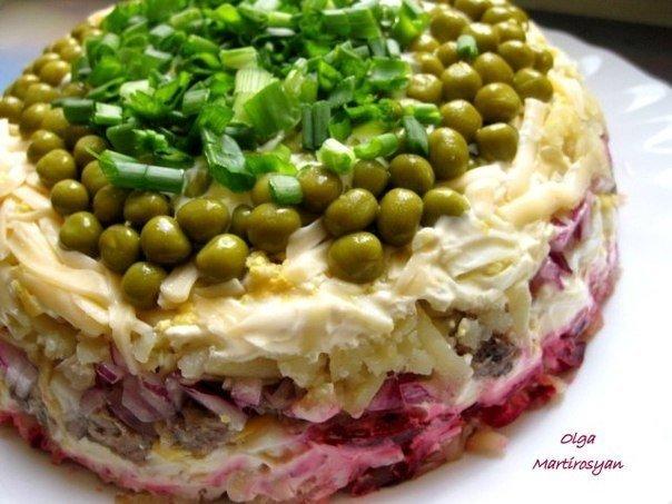 Готовим новый, вкусный салат «Лоцман» к празднику