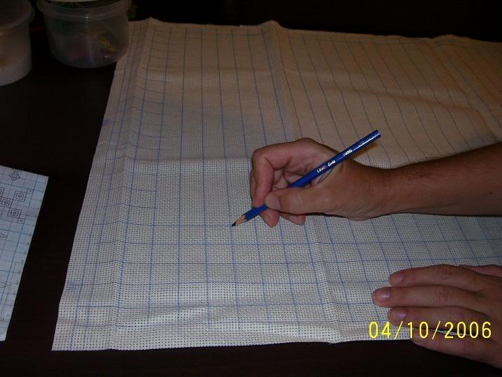 Вышивка по канве бисером (мастер-класс)