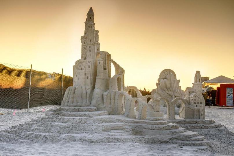 10 лучших конкурсов скульптур из песка в Америке
