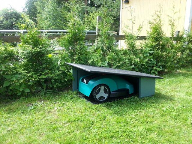Хранение садовой техники