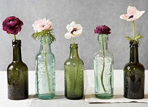 ваза из бутылки своими руками