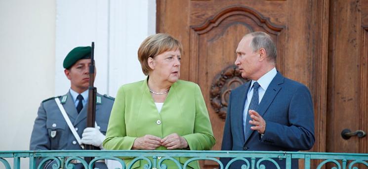 Меркель раскрыла ключевые темы переговоров с Путиным