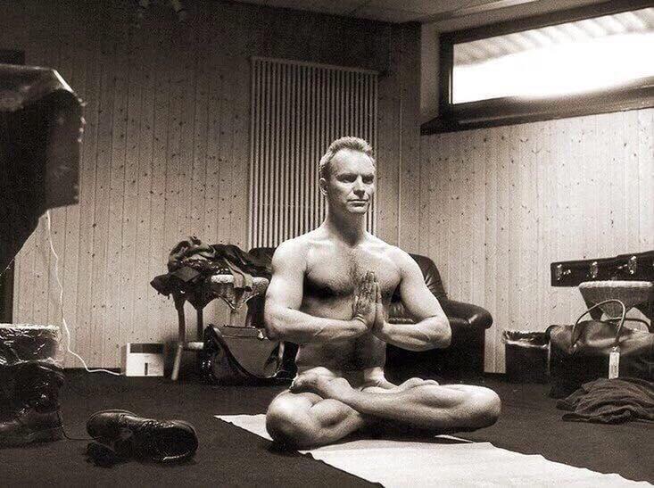 Стинг о йоге на своём жизненном пути.