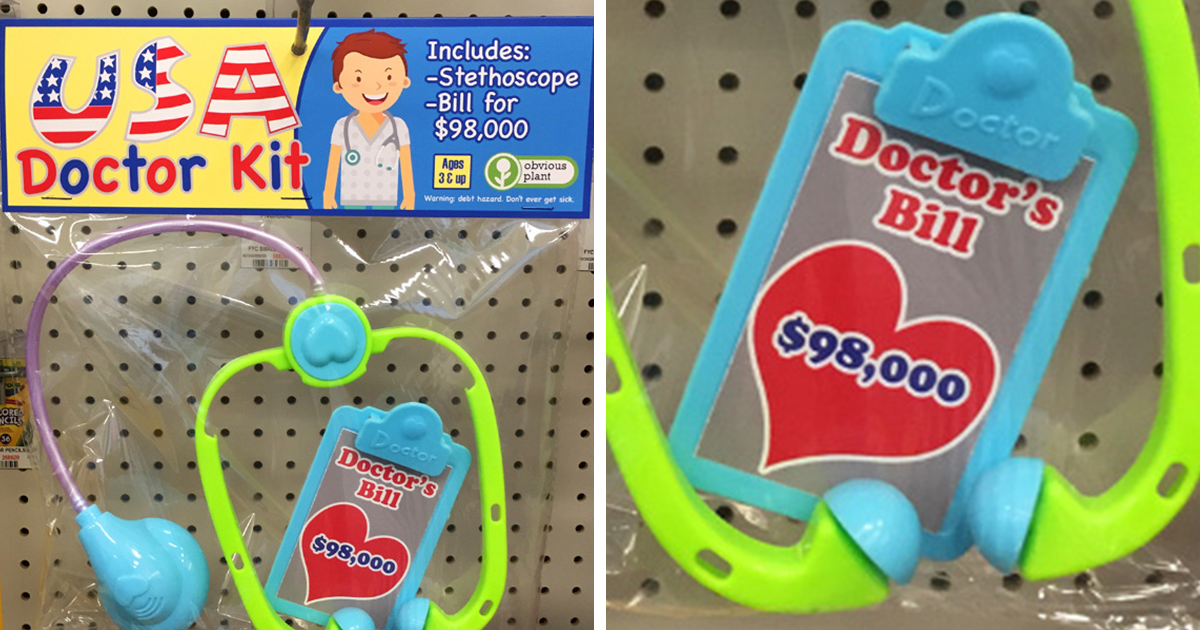 Guy Leaves Hilarious Fake Christmas Gifts In Stores That Are Better Than The Real Stuff