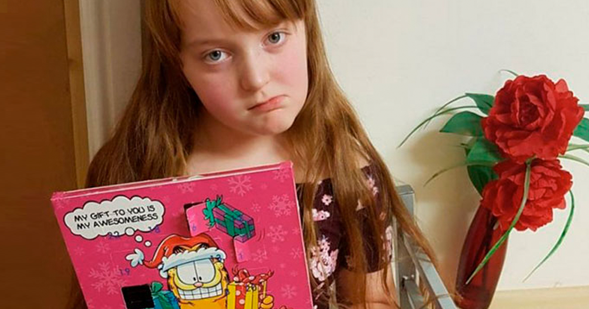 Mother Realized Her 9-Year-Old Ate From Advent Calendar For Cats Way Too Late