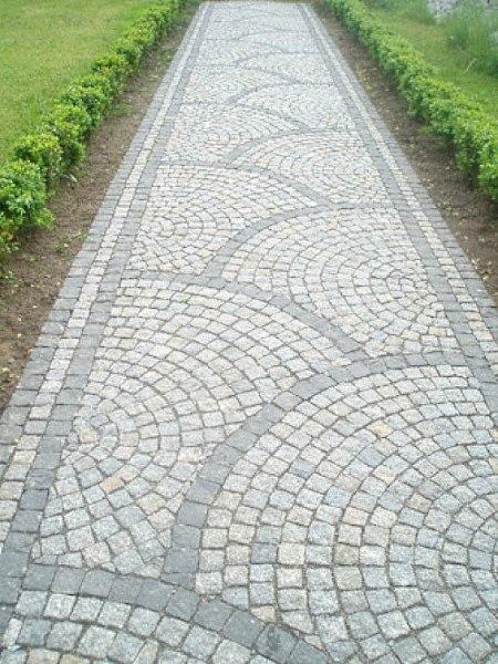 Тротуарная плитка - брусчатк…