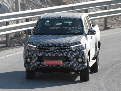 На юге Европы показался пикап Toyota Hilux нового поколения