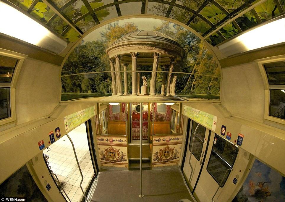 Paris commuter train 3 Версаль в электричке