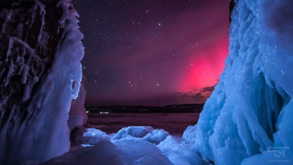 Завораживающее видео о красоте озера Байкал