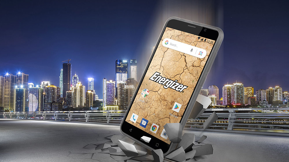 Energizer выпустил смартфон на чистом Android за 5000 рублей