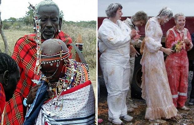 Необычные свадебные традиции…