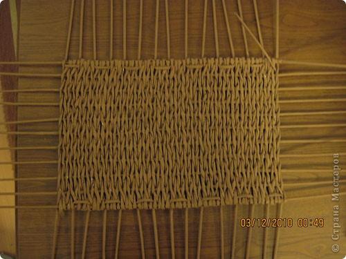 Мастер-класс,  Плетение, : Плетение квадратной (прямоугольной ) коробки Бумага газетная . Фото 16