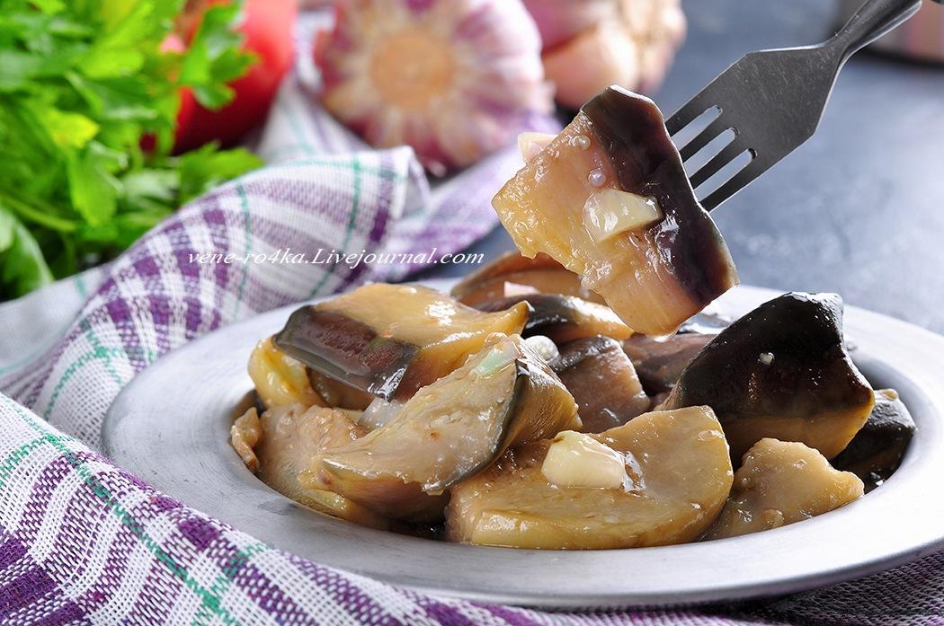 Турецкая кухня: Быстро маринованные баклажаны (Çabuk patlıcan turşusu)