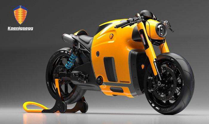 Концепт мотоцикла Koenigsegg