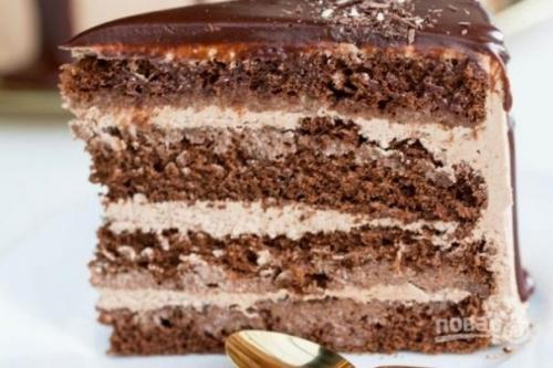Торт «Прага» (оригинальный рецепт).