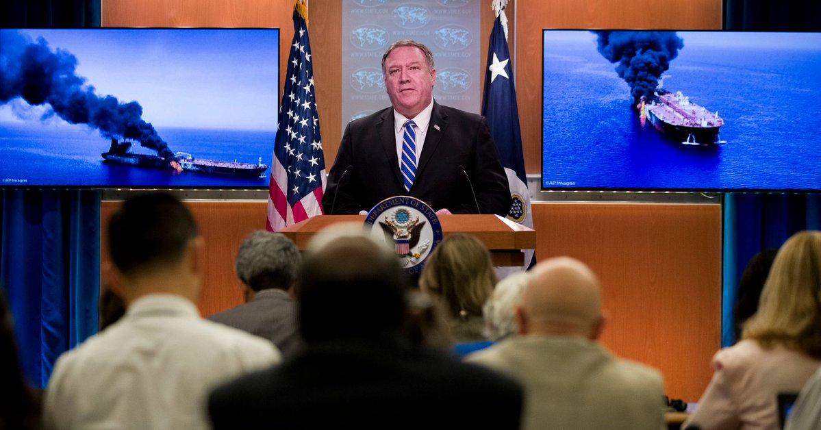 США обвинили Иран в подрыве танкеров в Оманском заливе