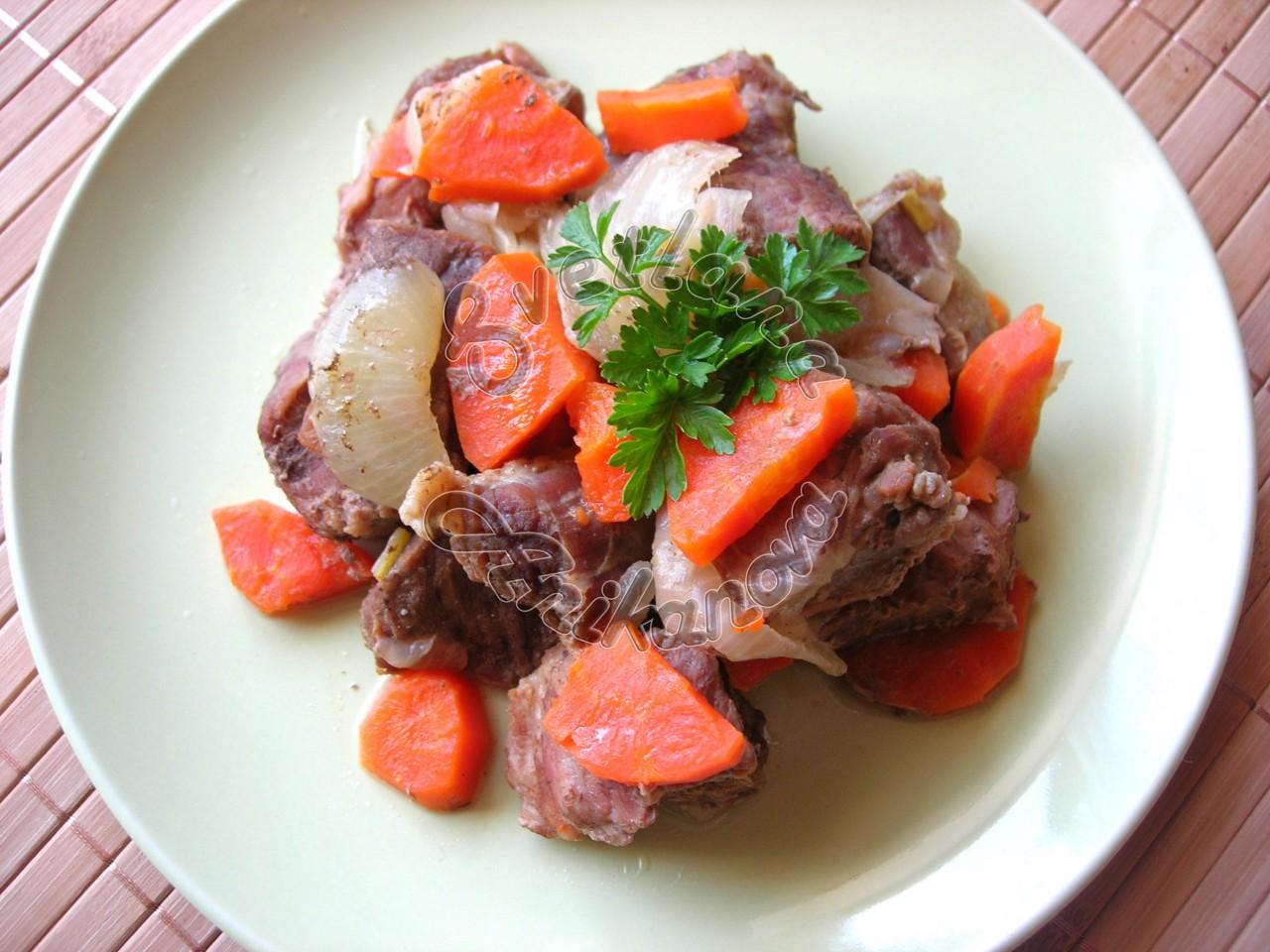 Тушеное Мясо с Овощами. Рецепт для тех, кто на Диете!