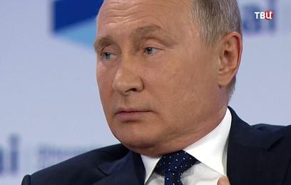 Путин рассказал о своей возросшей любви к России