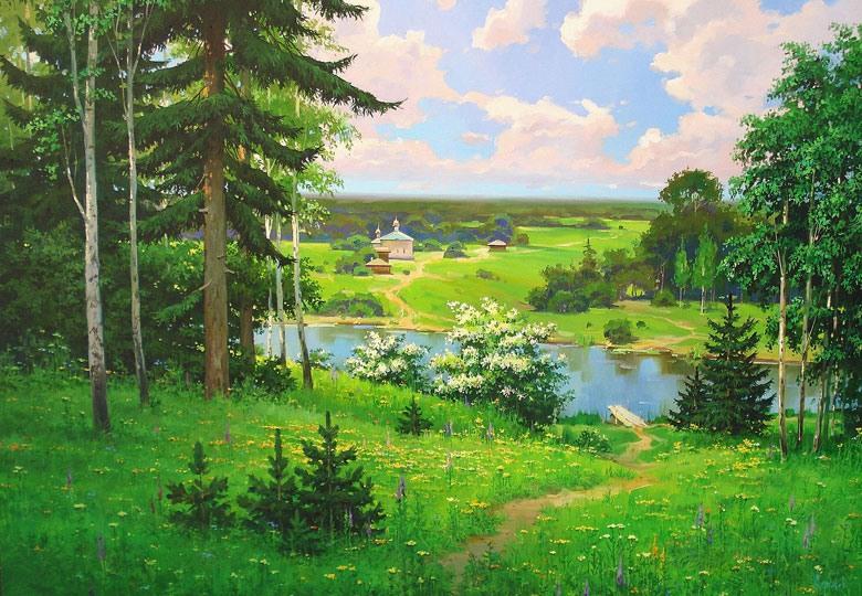 Щербаков Олег. Начало лета