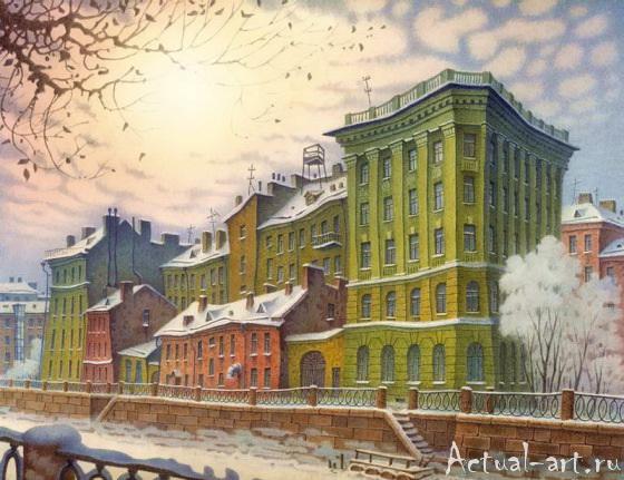 Даже не верится...сказочный Санкт-Петербург Владимира Колбасова