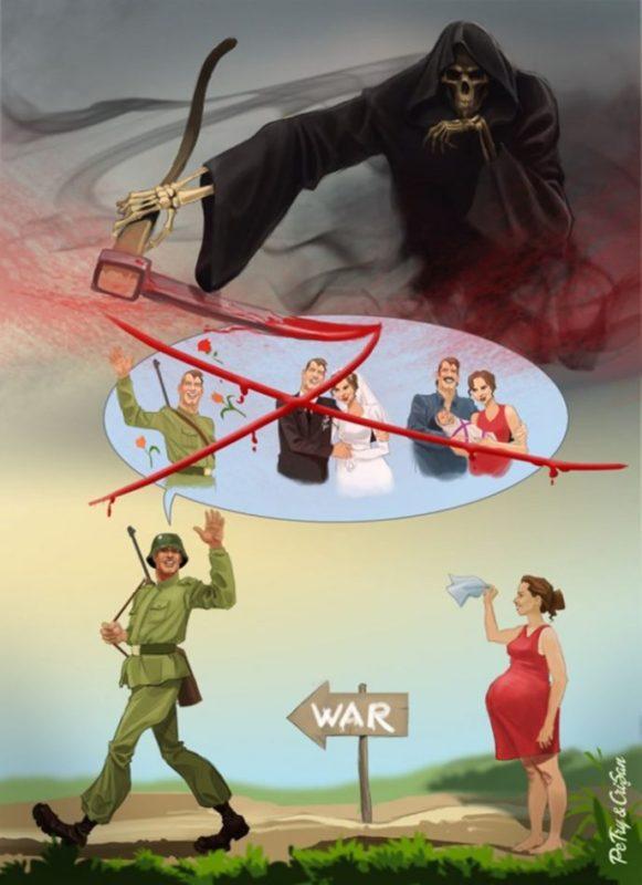 Сатирические иллюстрации, от…