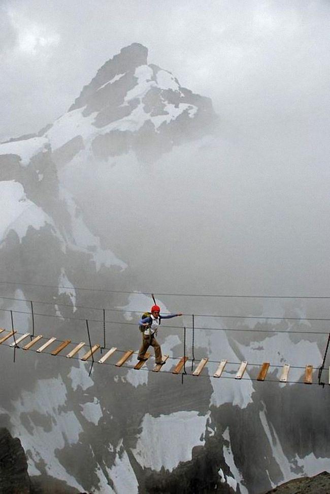 Захватывающие дух «высотные» фотографии