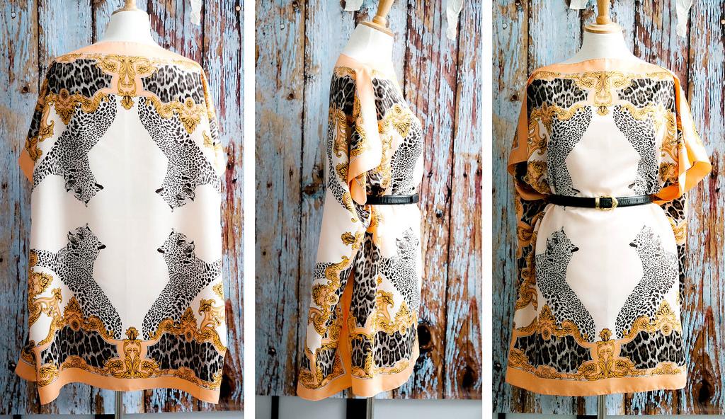 Как сделать платье из платка своими руками