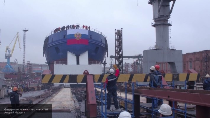 Проект 22600: новое оборудование для ледокола «Виктор Черномырдин» готово