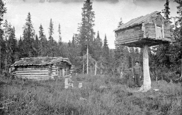 Дореволюционная Россия: Архангельская губерния и её жители в 1910 году на фото шведского этнографа