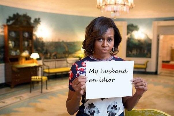 Жена Барака Обамы