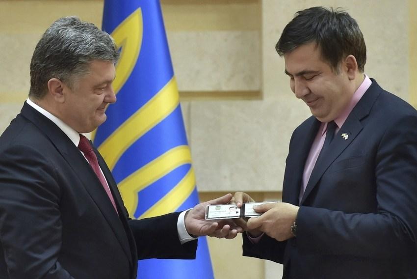 Саакашвили заговорил на весь…