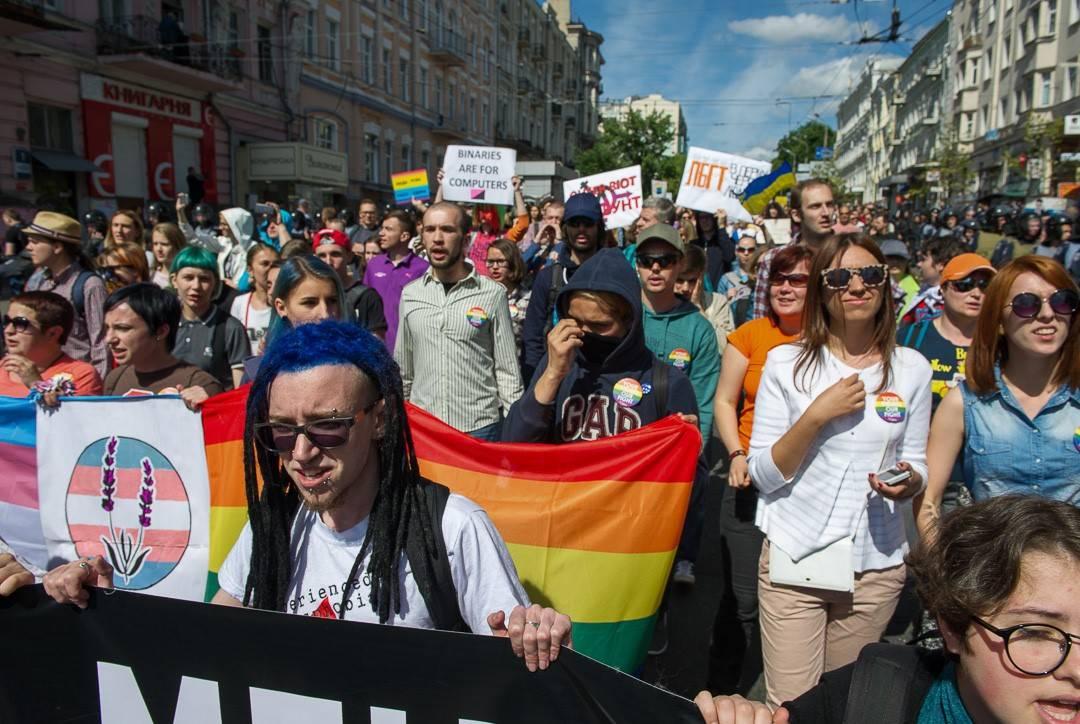 Гей-парад в Киеве: «кость» д…