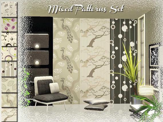 Mixed Patterns Set от ung999