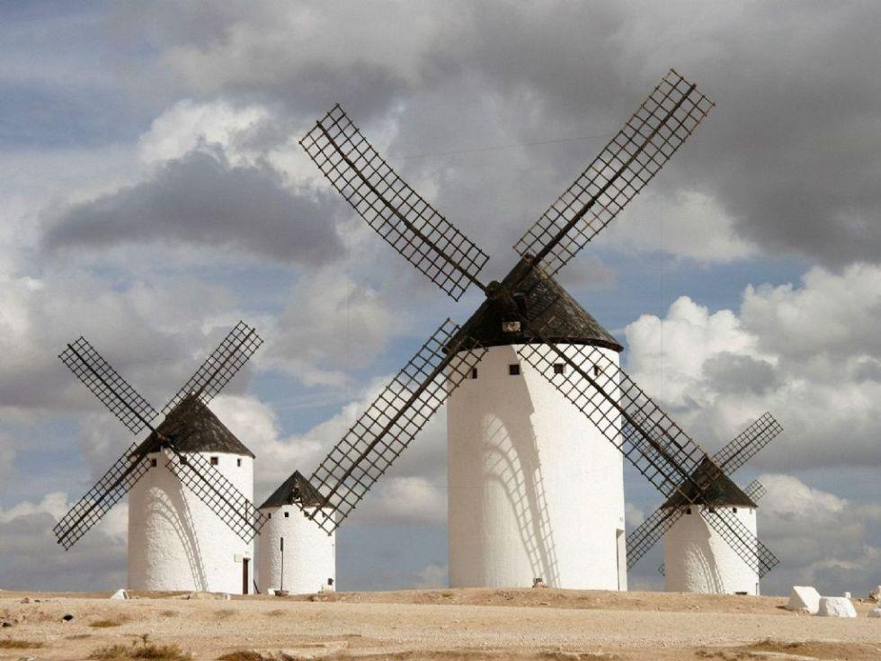 Знаменитые ветряные мельницы в Ла-Манче