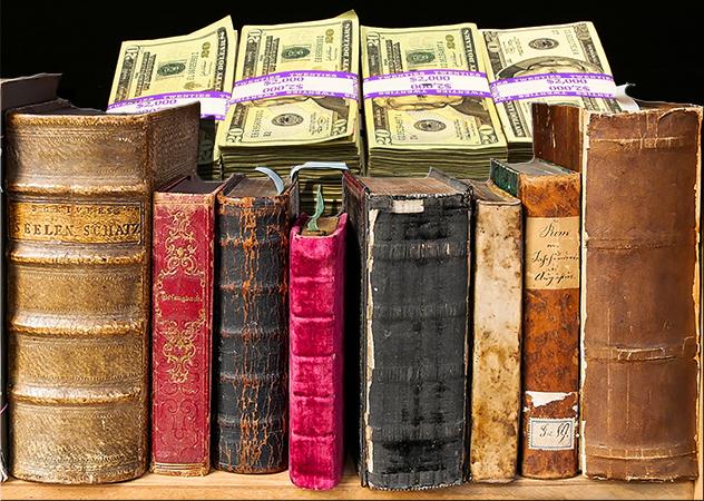 За два десятка лет американский библиотекарь украл книг на 8 миллионов долларов