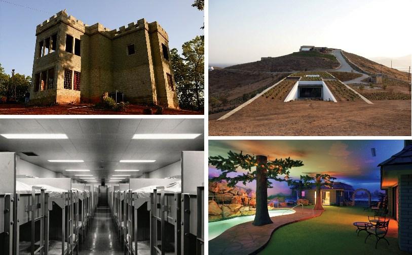 10 самых удивительных бункеров от Апокалипсиса.