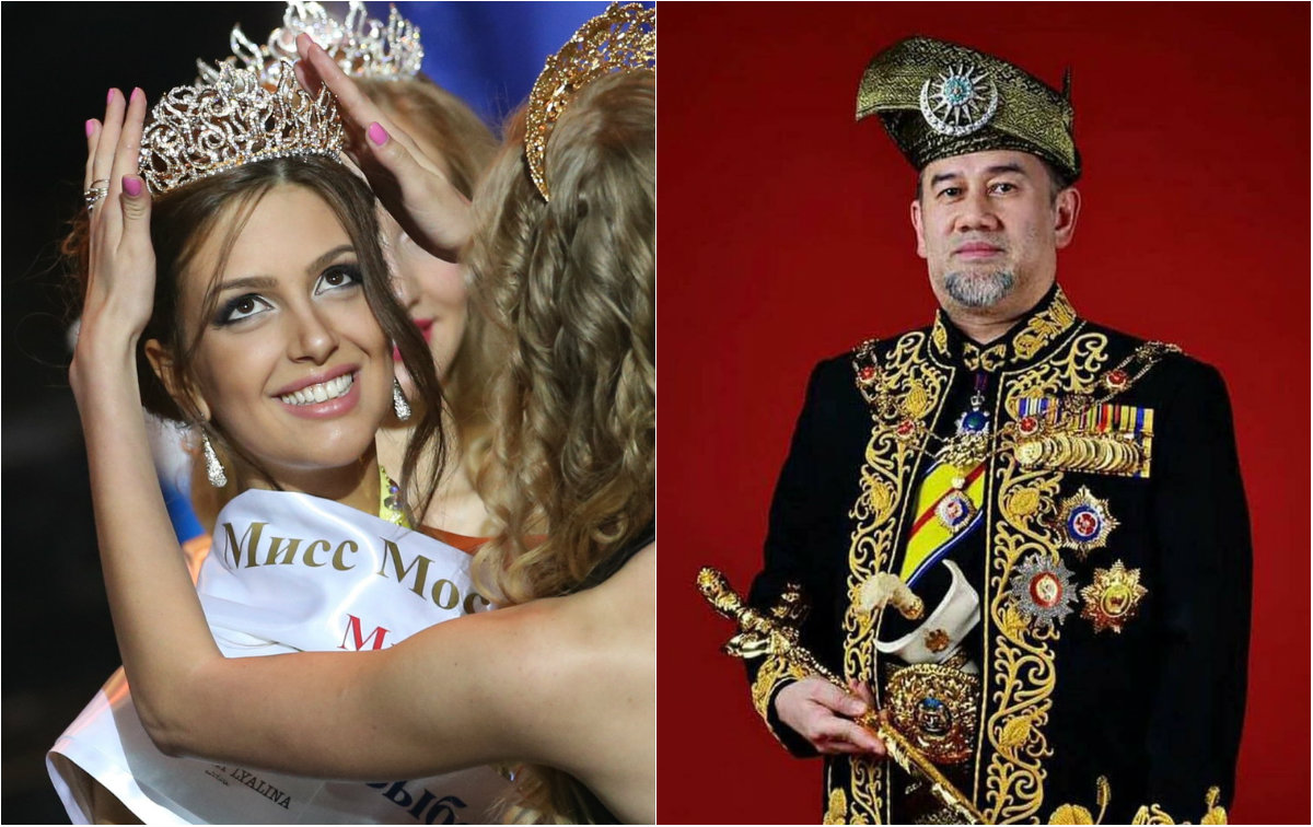 «Мисс Москва» вышла замуж за…