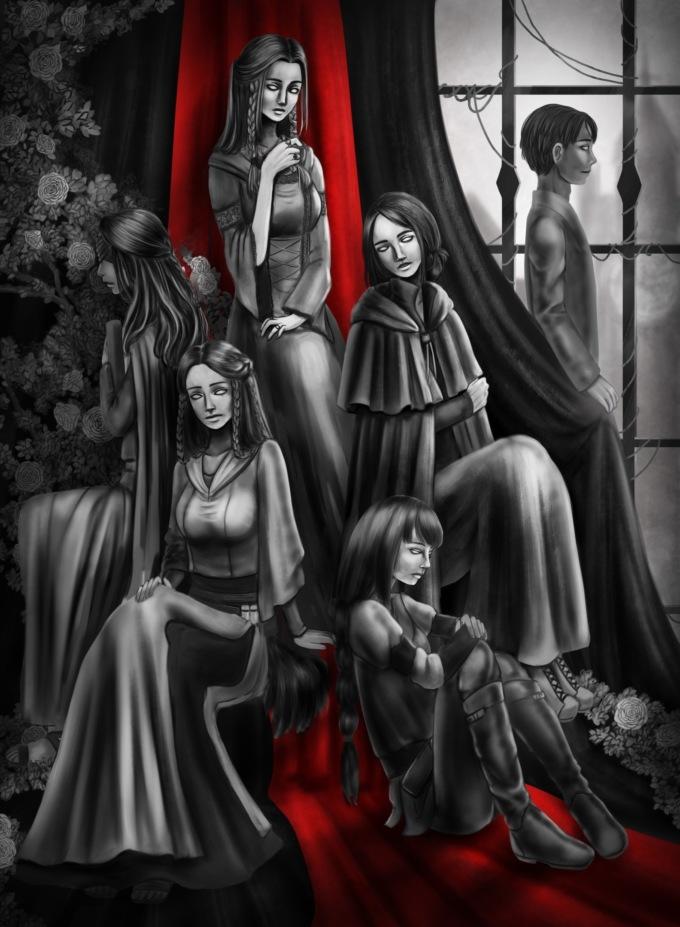 Morneburg`s Chronicles: Deus Vult - визуальная новелла в жанре тёмного фэнтези с большой вариативностью сюжета