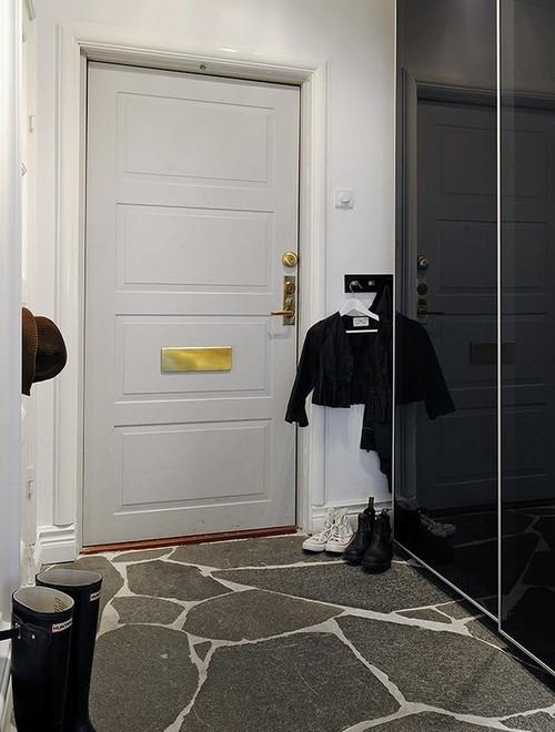 Коридор с 4 дверями дизайн