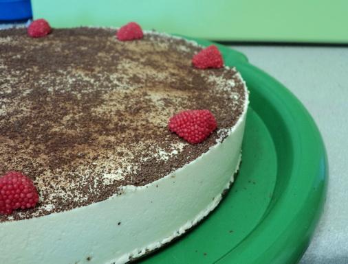 Творожный тортик (чизкейк)