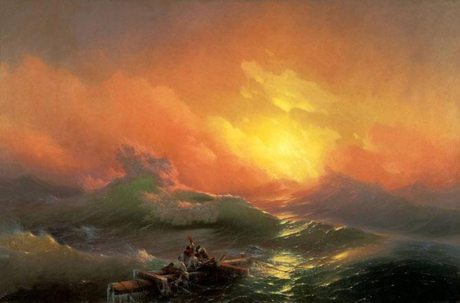 Самые лучшие картины И. К. Айвазовского
